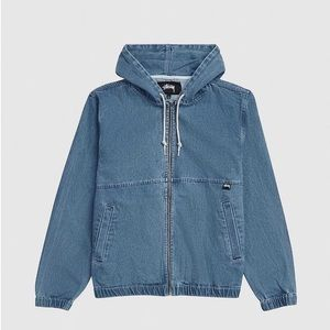 Stussy indigo work jacket